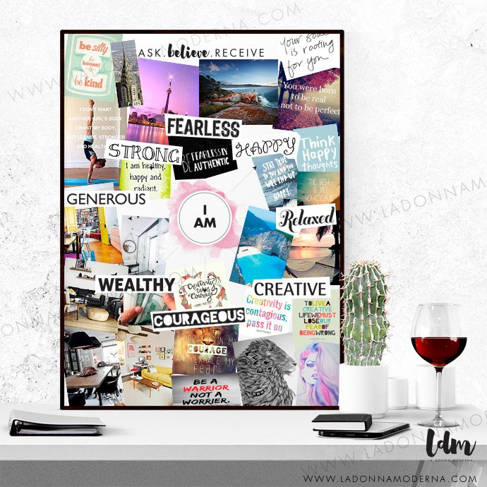 Law of Attraction: Vision/DreamBoards